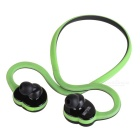 DseKai HV-600 Stereo Sports Bluetooth V4.1 Earphone - Black + Emerald