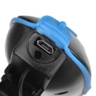 Kitbon Waterproof Rechargeable Bike Horn Light - Black + Blue