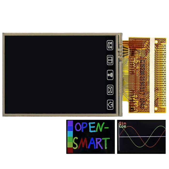 OPEN-SMART 320 * 240 S6D1121 34P TFT LCD Touch Screen Display Module