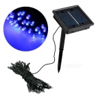 QooK BF53 60-LED 2-Mode Blue Light Solar String Fairy Lights (10m)