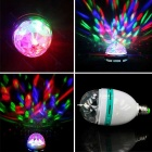 YouOKLight Automatic Rotating 3W RGB Bulb With E27 to US Plugs