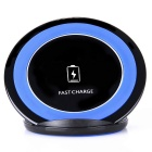 Vertical Wireless Charger for Samsung GALAXY - Blue + Black (EU Plug)