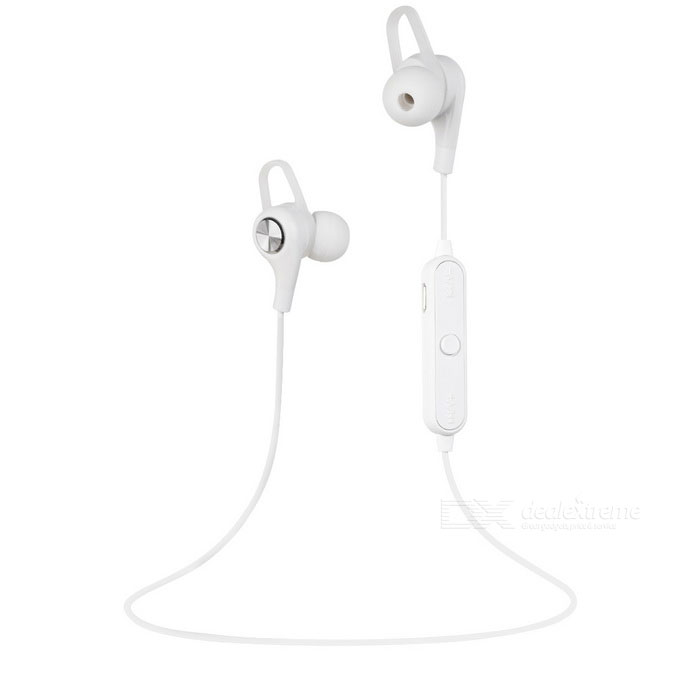 Cwxuan BT12 Sports Bluetooth V4.1 Stereo In-Ear Earphone - White