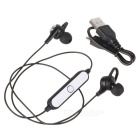 Cwxuan BT12 Sports Bluetooth V4.1 Stereo In-Ear Earphone - Black
