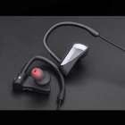 U12 Sweatproof Noise Reduction Bluetooth Earphone - Black