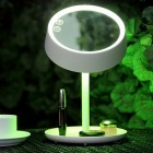 LED Colorful Make-up Mirror Desktop / Bed Lamp - White