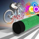 Waterproof Portable Bluetooth Handsfree Stereo Loudspeaker - Green