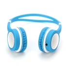 DM-2760 Colorful Headband Headset - Blue + White