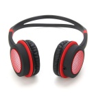 DM-2760 Colorful Headband Headset - Black + Red