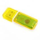 USB 2.0 Mini  Micro SD Card Reader for Computer - Yellow