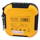 LED Lights Outdoor Mini Bluetooth Speaker - Black + Yellow