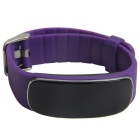 Bluetooth Smart Bracele w/ Heart Rate Monitor - Purple
