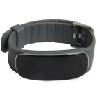 Bluetooth Smart Bracele w/ Heart Rate Monitor - Black