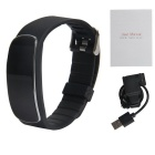 Bluetooth Smart Bracelet w/ Heart Rate Monitor - Black