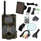 "HC 300M 2"" 12MP Solar Powered Trail Hunting Camera - Army Green"