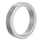 25 * 5mm Magic Trick Prop Magnetic Ring - Silver (10 PCS)