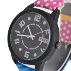 Fashion Creative Quartz Watch for Women Girls - Black