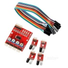 4-Way Infrared Tracing Transmission Line Modules Car Robot Sensor