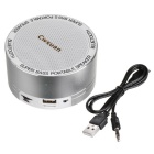 Cwxuan Bluetooth V3.0 Speaker w/ Handsfree Call - Silvery White