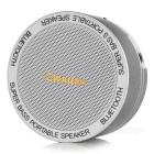 Cwxuan Bluetooth V3.0 Speaker w/ Handsfree Call - Grey + White