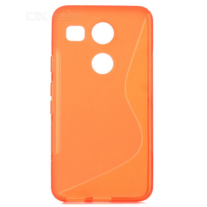 TPU Back Case for Google Nexus 5X / LG nexus 5X - Translucent Red