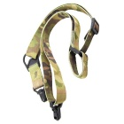 ACCU 2 Point Adjustable Shotgun Rifle Gun Sling Strap - Camo (141cm)