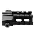 ACCU Rail Picatinny Quick Release Mount for Scopes / Optics - Black