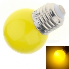 YouOKLight YK0055 E27 3W F5 DIP 6-LED Yellow Light Lamp Bulb (AC 220V)