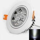 YouOKLight YK4411 7W 560lm 7-LED Cool White Ceiling Lamp (AC 100-240V)