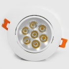 YouOKLight 7W 3000K 560lm 7-LED Warm White Ceiling Lamp (AC 100-240V)