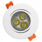 YouOKLight YK4409 3W 240lm 3-LED Warm White Ceiling Lamp (AC 100-240V)
