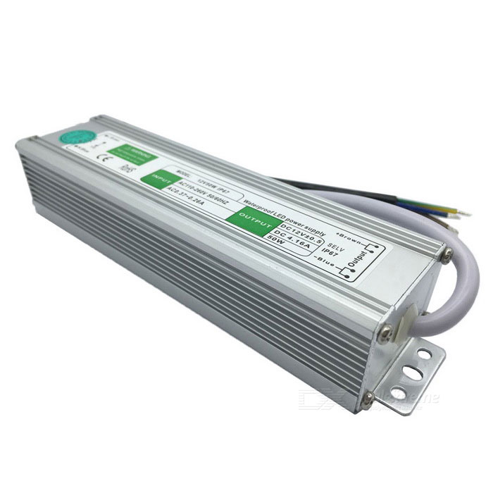 SAMDI AC 110/260V to DC 12V 50W Waterproof Switching Power Supply
