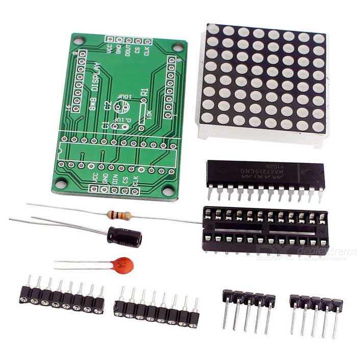 DIY MAX7219 Dot Matrix Module Display Module for Arduino