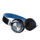 SOUND INTONE HD200 Foldable Super Bass Wired Headphone - Black + Blue