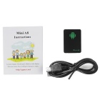Mini LBS Locator Global GPS Mobile Anti-theft Tracker w/ SOS - Black