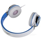 SOUND INTONE HD200 Foldable Super Bass Wired Headphone - White + Blue