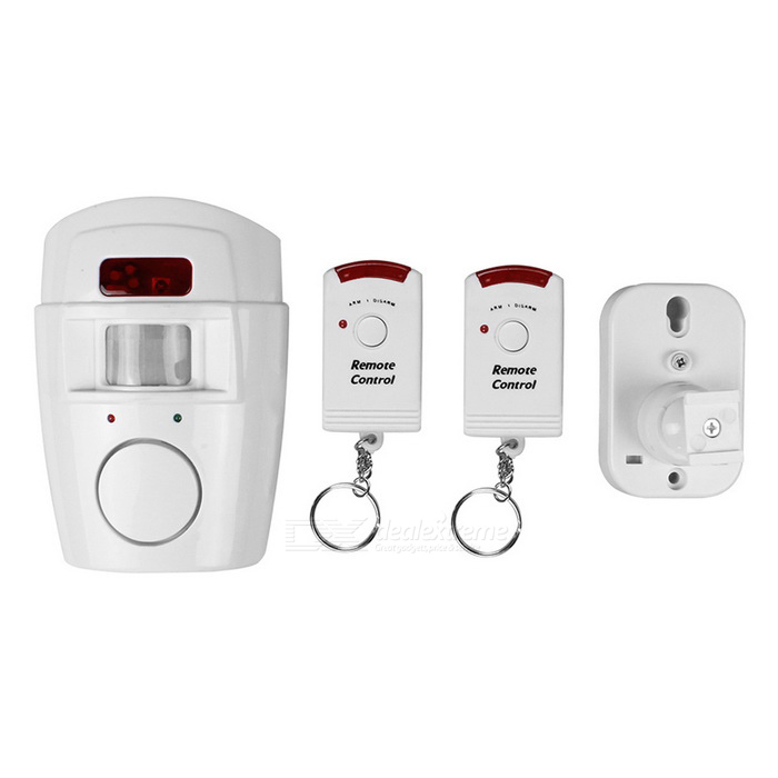 105 Door Window Anti-Theft Home Alarm Security Systems - White