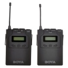 sistema lavalier microfono wireless BOYA BY-WM6 - nero
