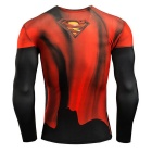 3D Printing Fast-Drying Long-Sleeved Tight-Fitting Male Shirt (XL)