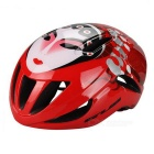 GUB F20 Beijing Opera Mask Pattern Integrated Helmet - White + Red