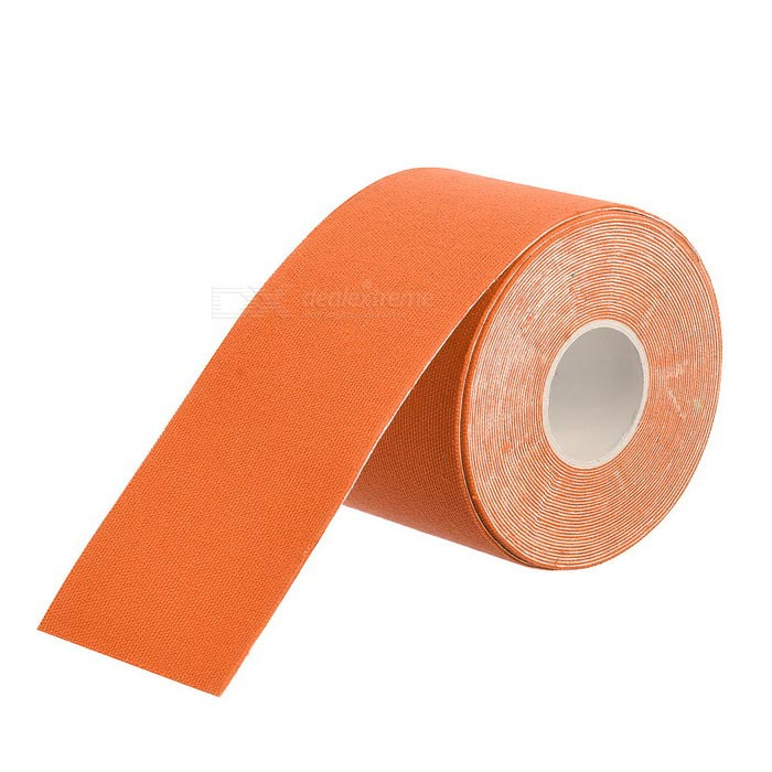 Cotton Muscle Physiotherapy Sticker - Orange (5 * 500cm)
