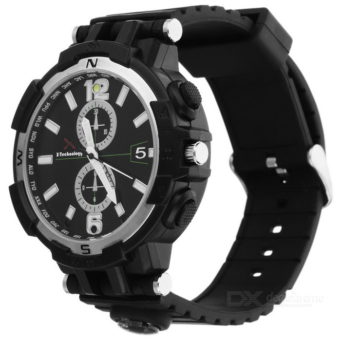 Y33 16GB Wi-Fi Smart Watch w/ Compass + Night Vision CameraSmart Watches<br>Form  ColorBlackModelY33Quantity1 DX.PCM.Model.AttributeModel.UnitMaterialPlastic shellShade Of ColorBlackCPU Processor-Screen Size1.44 DX.PCM.Model.AttributeModel.UnitScreen ResolutionNoTouch Screen TypeNoNetwork TypeOthers,Wi-FiBluetooth VersionNoOperating SystemWindows 7,Linux,Mac OSCompatible OSAndroid / iOS / WindowsLanguageNoWristband Length26 DX.PCM.Model.AttributeModel.UnitWater-proofOthers,Daily life waterproofBattery ModeNon-removableBattery TypeLi-polymer batteryBattery Capacity360 DX.PCM.Model.AttributeModel.UnitStandby Time90 DX.PCM.Model.AttributeModel.UnitOther FeaturesPicture Format: JPG<br>Resolution: 1280 * 720P / 640 * 480P for choose<br>Video Format: MP4<br>Visual Angle: 90 degrees<br>Frames: 25<br>Motion Detection Camera Distance: Straight line 6 meters<br>Recording Range: 5<br>Memory Card Type: TF (Max support 32GB)Packing List1 * Wi-Fi Smart Watch1 * Charging Cable (70cm)1 * Chinese-English User Manual<br>