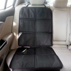 ZIQIAO Car Seat Protector w/ Pockets for Child - Black