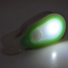Waterproof 2-Mode Safety Warning Light w/ Magnet - White + Green