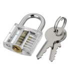 Mini Locksmith Tool Suit Set with Broken Key Remover - Transparent