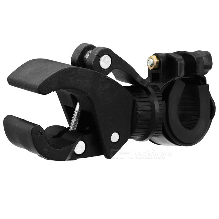 Bicycle Bike 90 Degree Rotating Universal Flashlight Mount Holder
