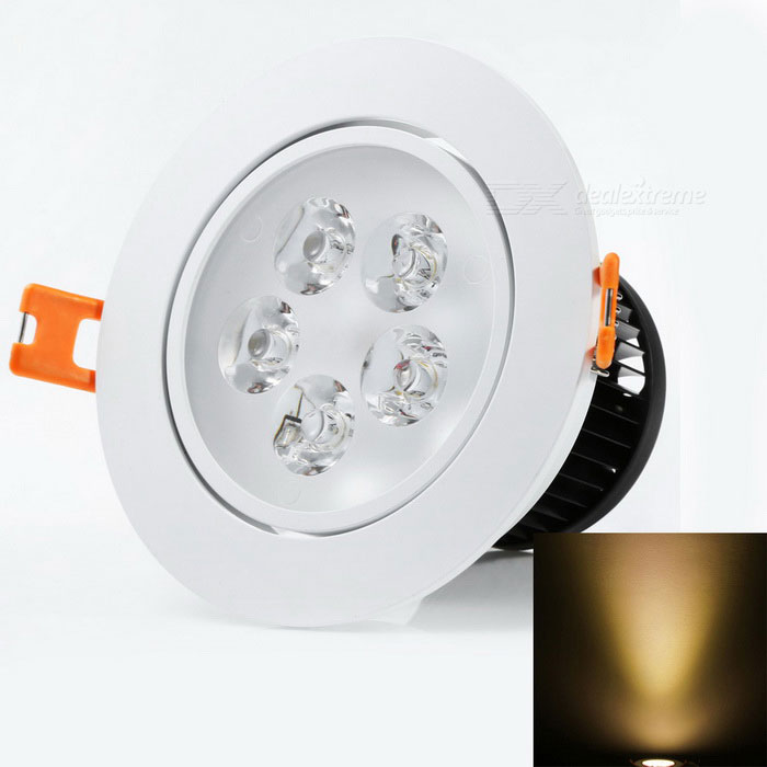 YouOKLight® 5W AC100~240V High Power 5-LED Warm White Ceiling Lamp