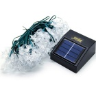 Joyshine solar 40-LED lua luz string luz de flash para o Natal