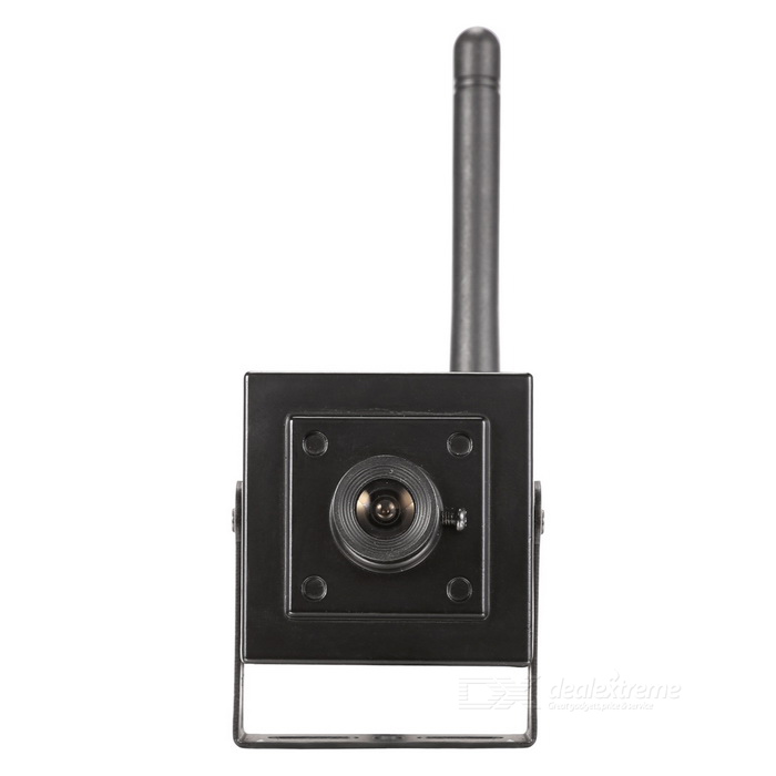 SunEyes SP-V903W 960P 1.3MP HD Wireless Super Mini IP CameraIP Cameras<br>Form  ColorBlackPower AdapterEU PlugModelSP-V903WMaterialMetal AlloyQuantity1 DX.PCM.Model.AttributeModel.UnitImage SensorCMOSImage Sensor SizeOthers,1/3 inchPixels1.3MPLens3.6mmViewing AngleOthers,70 DX.PCM.Model.AttributeModel.UnitVideo Compressed FormatH.264Picture Resolution1920 * 960Frame Rate25fpsInput/OutputBuilt-in MicAudio Compression FormatOthers,G.726 / G.711Minimum Illumination0.01 DX.PCM.Model.AttributeModel.UnitNight VisionNoIR-LED Quantity0Night Vision DistanceNo DX.PCM.Model.AttributeModel.UnitWireless / WiFi802.11 b / g / nNetwork ProtocolTCP,IP,UDP,HTTP,SMTP,FTP,DHCP,NTP,DDNS,uPnP,PPPoE,TFTP,ARPSupported SystemsWindows 2000,2003,XP,Vista,7Supported BrowserIE 6.0 and above,FirefoxSIM Card SlotNoOnline Visitor4IP ModeDynamic,StaticMobile Phone PlatformAndroid,iOSSmart AlarmMotion Detection AlarmFree DDNSYesIR-CUTYesBuilt-in Memory / RAMNoLocal MemoryyesMemory CardTF CardMax. Memory Supported128GBMotorNoRotation AngleNoZoomNoSupported LanguagesEnglish,Simplified ChineseWater-proofNoRate Voltage12VRated Current1 DX.PCM.Model.AttributeModel.UnitIntercom FunctionYesCertificationCE, FCC, RoHSPacking List1 * Camera1 * Software disc1 * Power adapter (AC 100~240V / EU plug / 110cm-cable)1 * Antenna1 * English Manual1 * Screw<br>