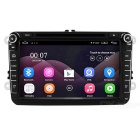 "Funrover 8"" Android OEM Car DVD Player w/ 1024*600 GPS for VW Passat"